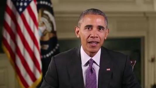 Mensaje de Obama: No importa lo que pase, el sol saldrá en la mañana
