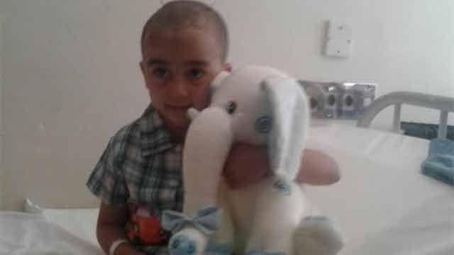 Niño herido por bala perdida recibió el alta médica pero quedó con secuelas