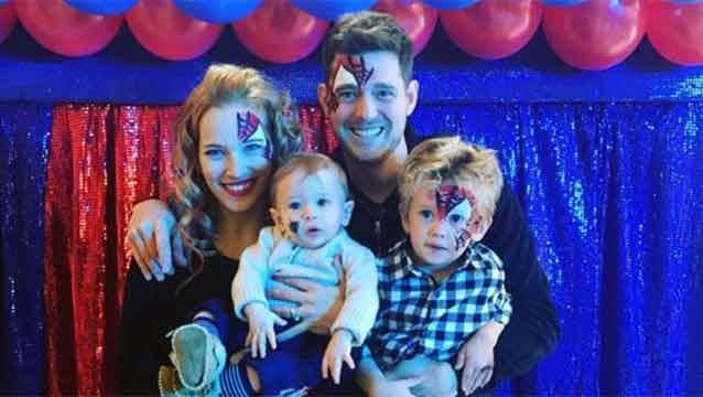 Bublé: Estamos devastados por el diagnóstico de cáncer de nuestro hijo
