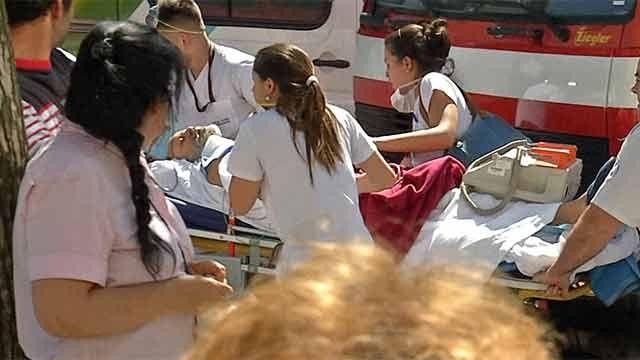 Controlado el incendio en Sanatorio Americano: pacientes fueron evacuados