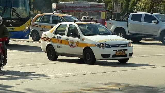 """Trabajadores del Sindicato del Taxi seguirán llegando con """"cero ficha"""""""