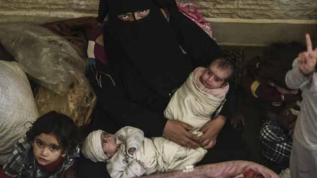 Crece el temor por los habitantes de Mosul atrapados en medio de combates