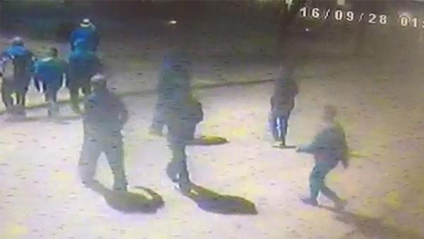 Ataque a hinchas de Peñarol en Santa Lucía fue planificado por Whatsapp
