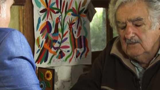 Mujica en la TV Argentina El dolor, cuando no te destruye, te hace pensar