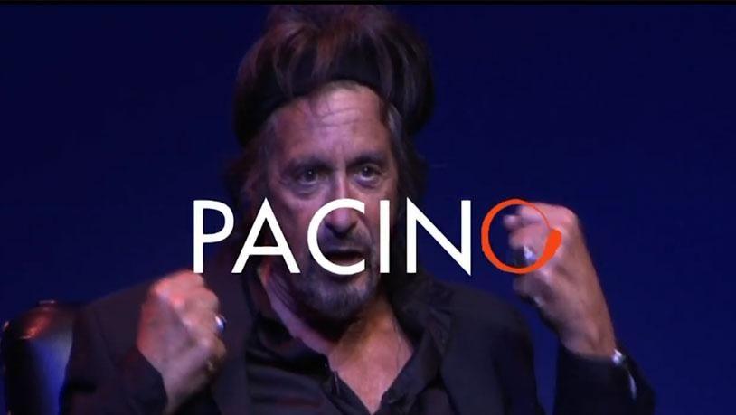 Al Pacino por primera vez en Buenos Aires