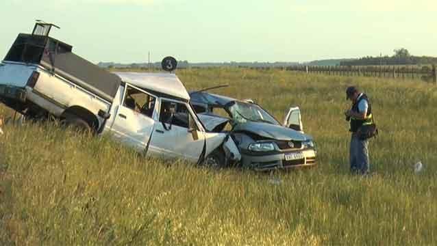 Siniestro fatal en Durazno: dos fallecidos y cuatro politraumatizados