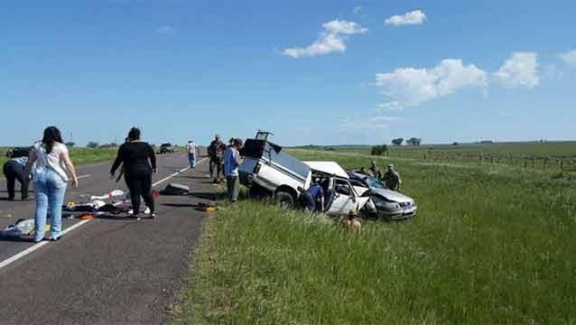 Siniestro fatal en Durazno dos fallecidos y cuatro politraumatizados