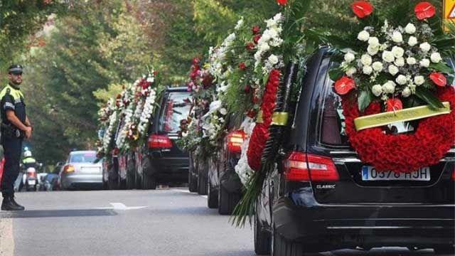 Empleados fúnebres reclaman jornadas de 6 horas y una jubilación especial