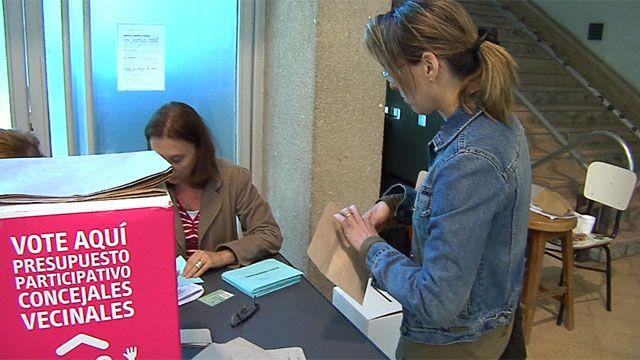 Montevideanos votaron Presupuesto Participativo y Concejales