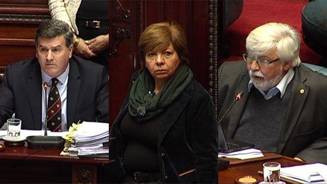 Bordaberry cuestionó vínculos de esposa de Bonomi con hinchada de Peñarol