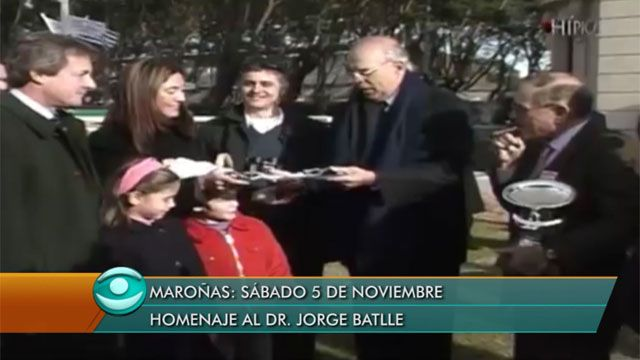 El turf nacional rinde homenaje a Jorge Batlle