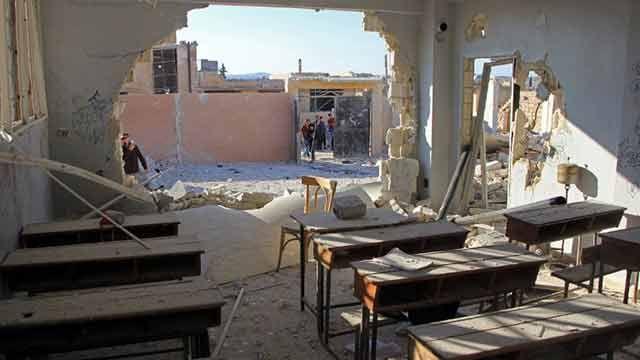 Rusia niega haber bombardeado escuela en Siria donde murieron 22 niños