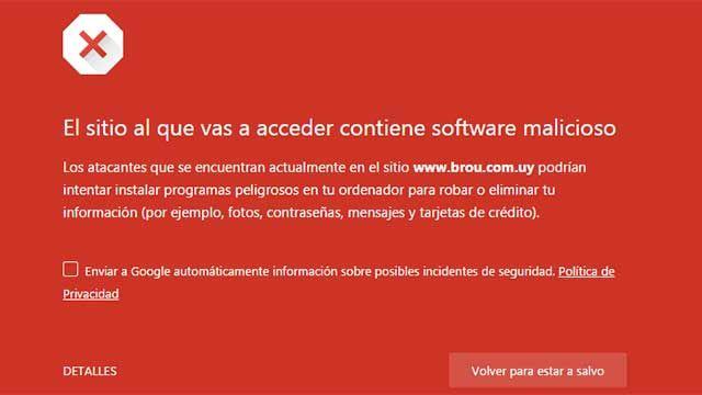 El BROU confirmó un ataque externo a su página web