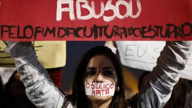 Otra vez una mujer víctima de una violación múltiple en Brasil