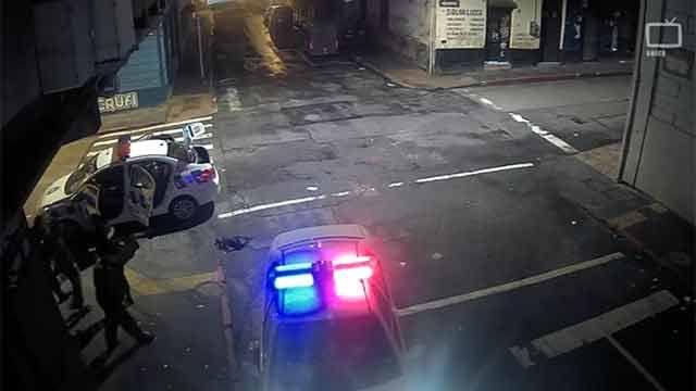 Detenido tras rapiña de celular gracias a cámaras de Ciudad Vieja