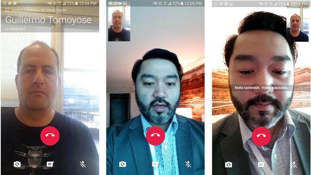 WhatsApp realiza pruebas de su nueva función: las videollamadas