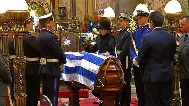 Líderes políticos recordaron a Jorge Batlle en el Palacio Legislativo