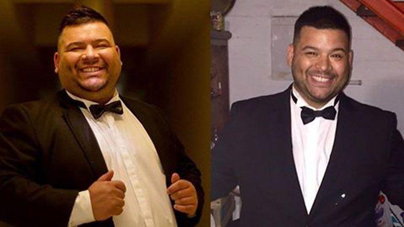 El Gucci parece otro; bajó 32 kilos en dos meses y va por más