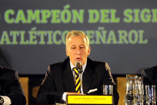 """Directiva de Peñarol renueva su """"combate frontal contra la violencia"""""""