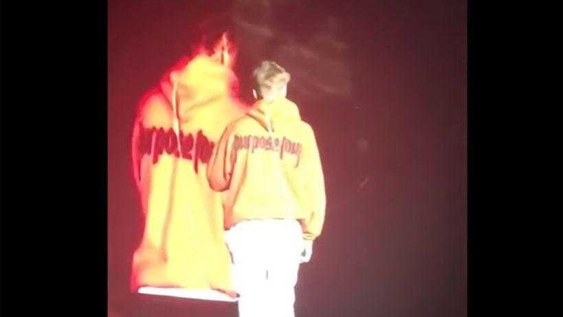 Justin Bieber se enojó con sus fans, tiró el micrófono y se fue del escenario