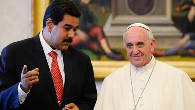 Oposición y chavismo acordaron la mediación del Papa en crisis venezolana