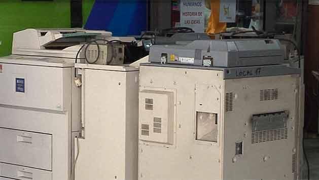 14 sentenciados a siete meses de prisión por vender fotocopias ilegales