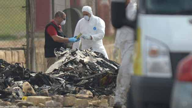 Avioneta se estrella en aeropuerto de Malta; cinco franceses muertos
