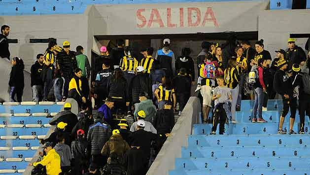 Hombre baleado en el Estadio es barrabrava del grupo Los Feos de Peñarol