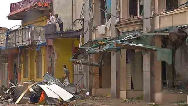 Exonerarán de tributos a comerciantes de Dolores afectados por el tornado