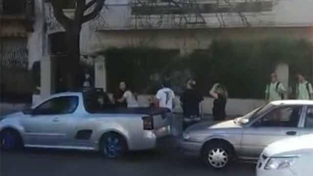 Detienen al joven que agredió a una pareja y una abuela en el tránsito