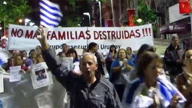 Convocan a marcha por seguridad esta tarde en Montevideo y el interior