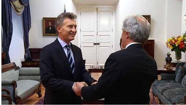 Macri prefiere un TLC con China de todo el Mercosur y no solo Uruguay