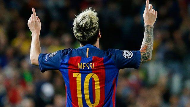 Goleó Barelona con tres de Messi y uno de Neymar ante el City de Guadiola