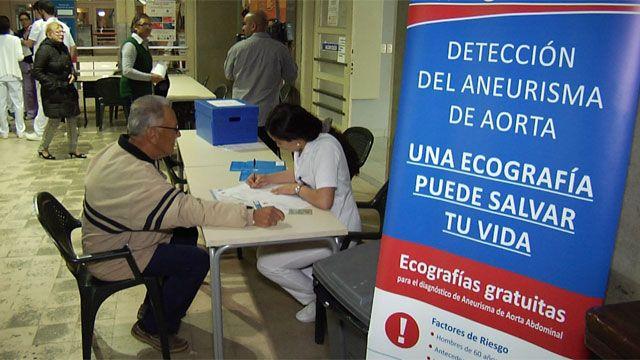Realizan ecografías gratis en el Clínicas para prevenir aneurisma de aorta