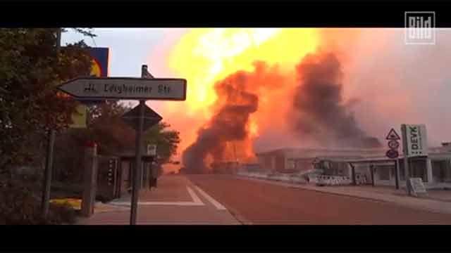 Explosión en planta química alemana deja 2 muertos y 2 desaparecidos