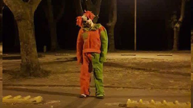 Joven se disfrazó de payaso siniestro y causó pánico en Durazno