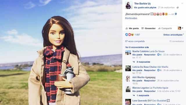 Barbie uruguaya es hincha celeste, matea, lee a Galeano y prepara picadas