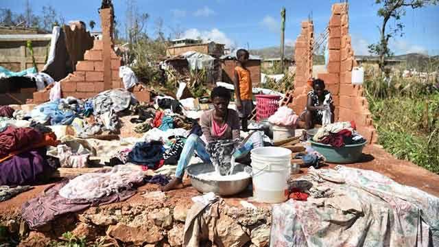 Estiman en 1.000 las víctimas que dejó el huracán Matthew en Haití