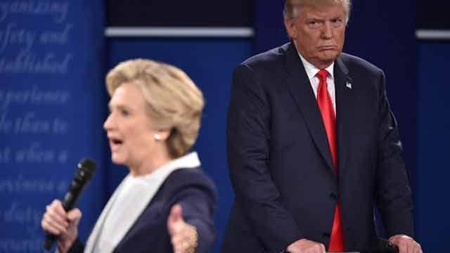 Trump recibe críticas por amenazar a Hillary Clinton con enviarla a prisión
