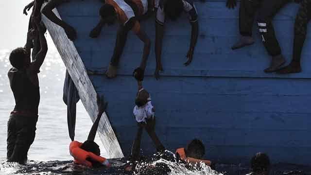 Al menos 28 migrantes mueren en el Mediterráneo frente a las costas libias