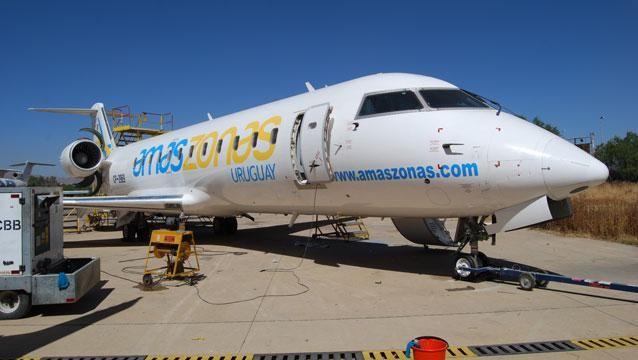 Amaszonas Uruguay inauguró sus vuelos diarios con destino a Buenos Aires