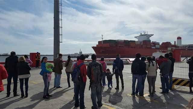 Niños y adolescentes reconstruyeron historia del Puerto de Montevideo