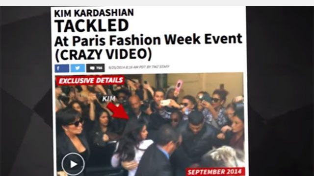 El besador de traseros lo hizo una vez más: le tocó a Kim Kardashian