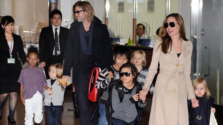 FBI investigaría a Brad Pitt por maltrato a sus hijos en un vuelo privado