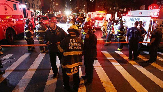 Explosión intencional deja 29 heridos en el barrio Chelsea de Nueva York