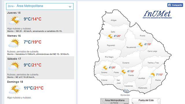 Alerta meteorológico cesó: mirá cómo estará el tiempo el fin de semana