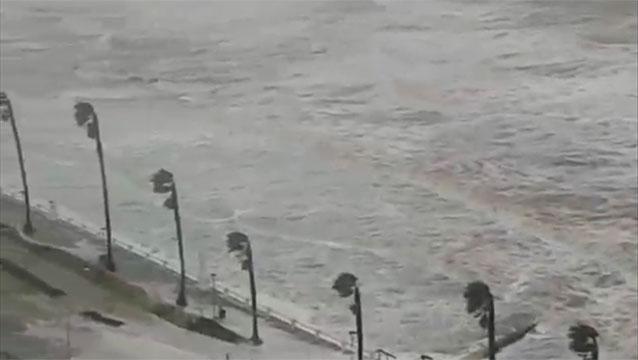 Se registraron rachas de viento de 119 km/h en Punta del Este