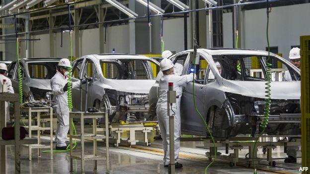 Actividad industrial en Uruguay cayó por quinto mes consecutivo