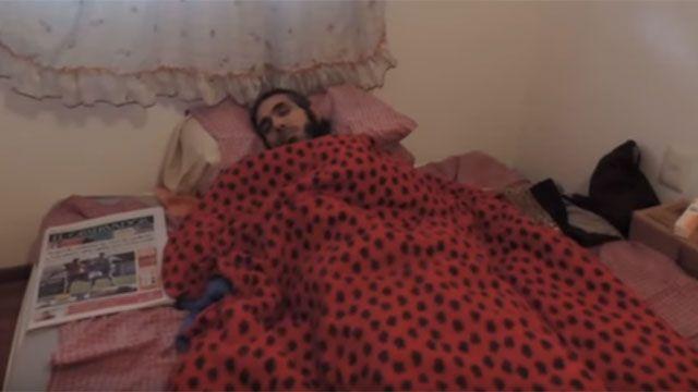 Diyab se negó a ser revisado, se fue del Clínicas y volvió a su apartamento