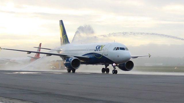 El lunes llegará al Aeropuerto de Carrasco el primer vuelo de Sky Airline
